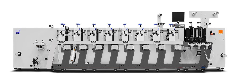 Foto da máquina impressora FIT 2018